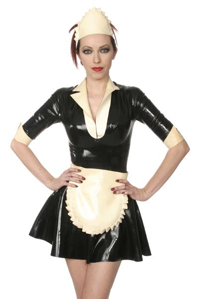 Maid S Dress Latex Dresses Lakkshop